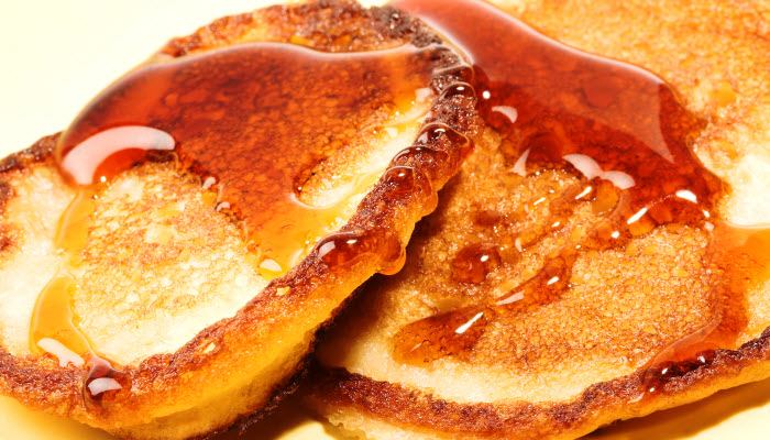 Cinnamon Whole Grain Pancakes – Healthy Option