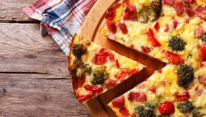 crustless-vegetable-quiche