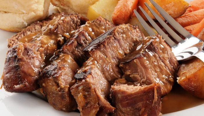 Glazed Beef Brisket – Healthy Options