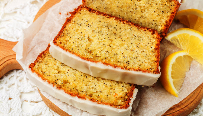 lemon loaf from The Jewish Kitchen