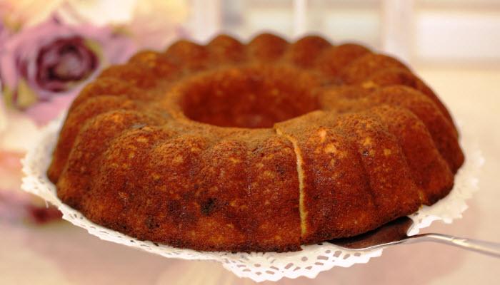 Light Cinnamon Coffee Cake – Healthy Option