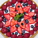 enlightened berry cheesecake from The Jewish Kitchen