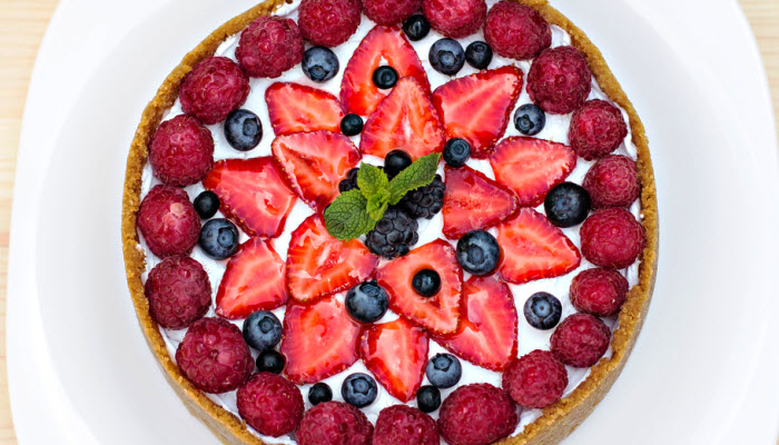 Enlightened Berry Cheesecake – Healthy Option