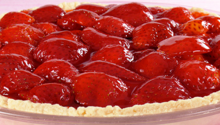 Fresh Strawberry Pie – Healthy Option