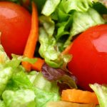 tossed salad with red wine vinaigrette from The Jewish Kitchen