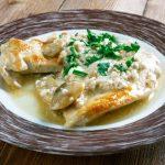 kosher veal scallopini from The Jewish Kitchen