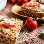vegetarian chopped liver from The Jewish Kitchen