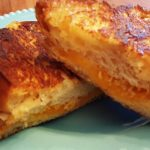 challah grilled cheese from The Jewish Kitchen