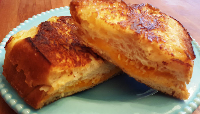 Grilled Cheese on Challah