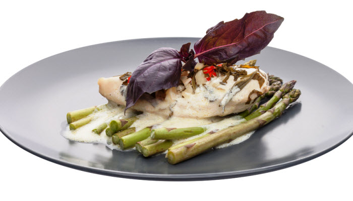 Creamy Chicken with Asparagus