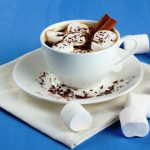 homemade hot cocoa with marshmallows from The Jewish Kitchen