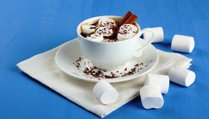 Homemade Hot Cocoa with Marshmallows