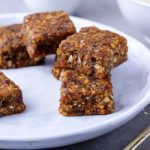 date nut squares from The Jewish Kitchen