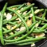 green beans almondine from The Jewish Kitchen