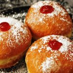 old-fashioned jelly donuts