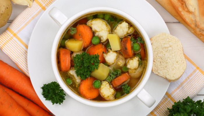 Light Vegetable Soup – Healthy Option