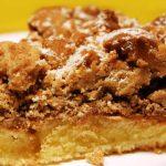 passover crumb cake from The Jewish Kitchen