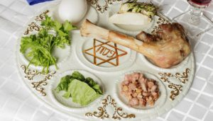 Passover Seder Menu (Fish) as seen on The Jewish Kitchen website