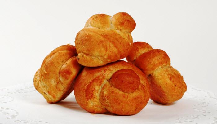 Buttery Twist Rolls