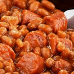 old-fashioned franks and beans from The Jewish Kitchen