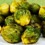 roasted brussels sprouts from The Jewish Kitchen