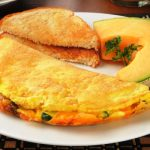 vegetarian western omelet from The Jewish Kitchen