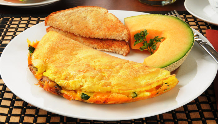 Vegetarian Western Omelet