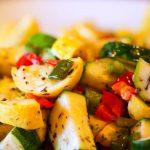 sauteed yellow squash and zucchini from The Jewish Kitchen