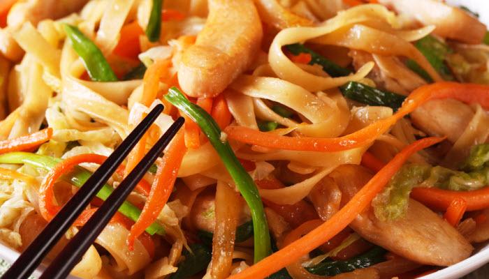 Kosher Chicken Chow Mein