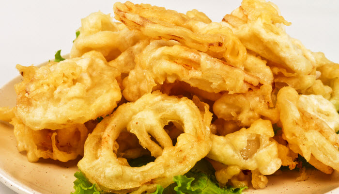 Kosher Fried Onion Rings