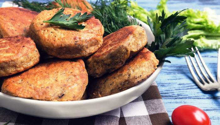 Kosher Vegetable Cutlets