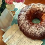gerties almond cake from The Jewish Kitchen