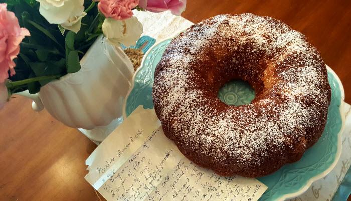 Grandma Gertie's Almond Cake