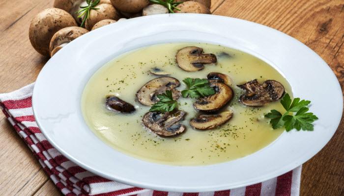 Soy Milk Cream Of Mushroom Soup