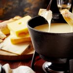 cheese fondue from The Jewish Kitchen