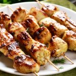 chicken kabobs from The Jewish Kitchen