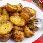 Grilled Herbed Potatoes as seen on The Jewish Kitchen website