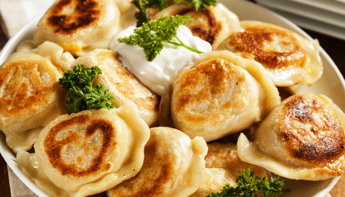 Potato and Onion Pierogies