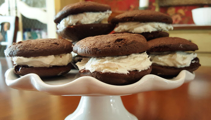 whoopie pies from The Jewish Kitchen