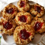 Raspberry Thumbprint Cookies