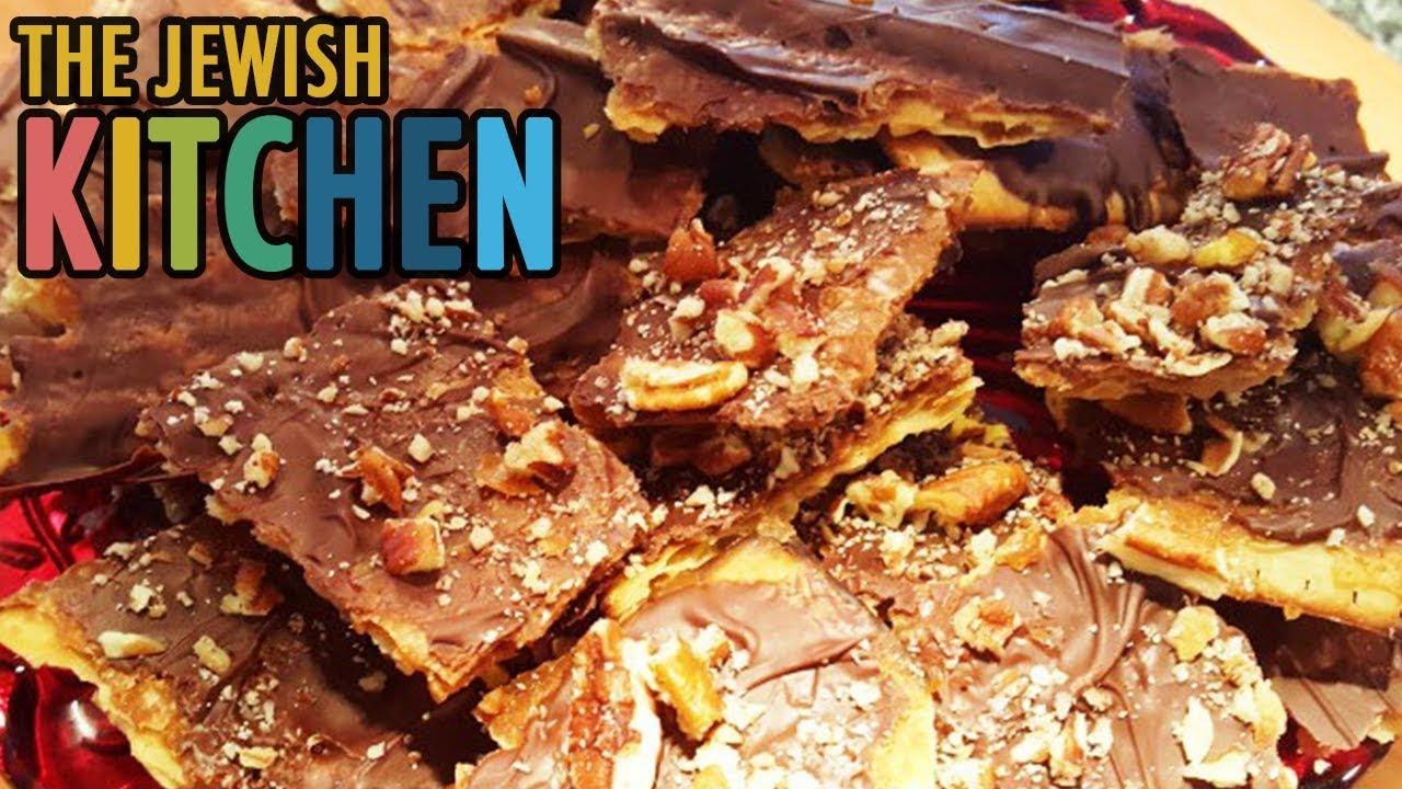 Chocolate Caramel Matzoh