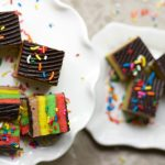 rainbow cookies from The Jewish Kitchen