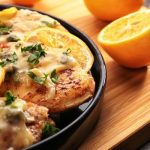 Kosher chicken piccata