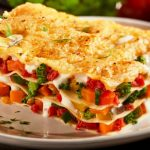 vegetable lasagna from The Jewish Kitchen