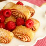 raspberry rugelach from The Jewish Kitchen