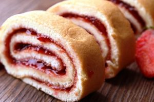 Gloria's jam roll from The Jewish Kitchen