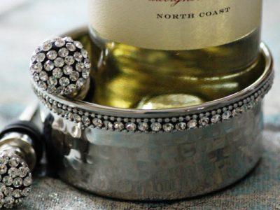 Jeweled Wine Coaster