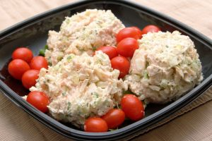my fast and favorite chicken salad