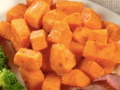 orange cinnamon sweet potatoes