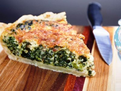 Phyllis's Spinach Pie from The Jewish Kitchen